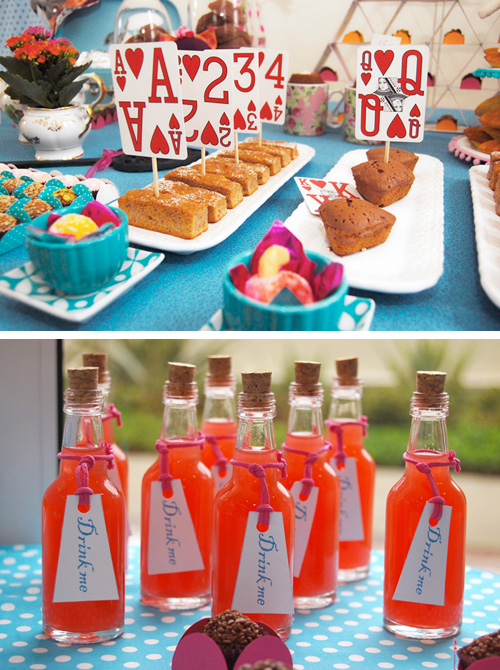 The alice in wonderland tea party croquet tournament and for Alice in wonderland tea party decoration ideas